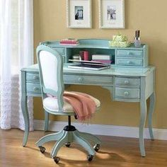 shabby chic office desk. Love This Color Combination Shabby Chic Desk Office O