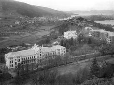 https://flic.kr/p/bdFqdi   Gamle hovedbygg bygges, før 1912.   Foto: Universitetsbiblioteket.