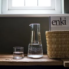 Classic Glassware, Kitchenware, Tableware, Colourful Cushions, Mulled Wine, Danish Design, Carafe, Storage Baskets, Clear Glass