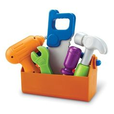 Learning Resources New Sprouts Fix It! Tool Set - Your little fixer-upper will love their Learning Resources New Sprouts Fix It! The tools are made from durable yet soft plastic. Toys For Little Kids, Kids Toys, Toddler Toys, Baby Toys, Lego Baby, 4 Kids, Pet Toys, Visual Learning, Learning Resources