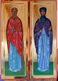 St. Cuthbert & St. Hilda by Peter Murphy