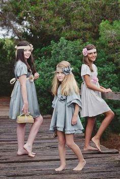 vestidos fiesta para niña #EvaJerez