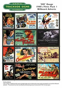 Films were a great way to pass the time and there was always something for everyone.