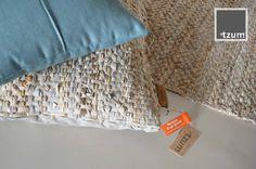 Stoere accessoires van leren stroken, gemaakt van gerecycled restmateriaal uit de tassenproductie; in onze collectie van byTzum!