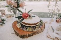 Australiana layer cake | Photo by Mitch Pohl