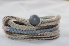 Handmade crocheted wrap braceletWrap jewelry by SplintersAndSoul, $25.00