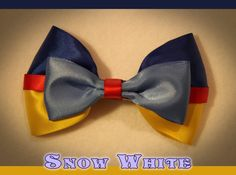 Disney's Snow White Inspired Hair Bow by NerdGirlBows on Etsy
