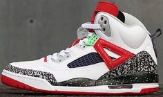 2015 Nike Air Jordan Spizike SZ 8.5 White Poison Green Cement Retro 315371-132