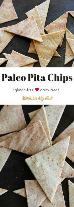 paleo pita chips