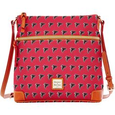 You'll always be prepared for the next Atlanta Falcons game with this crossbody purse from Dooney & Bourke. Mlb Indians, Falcons Rise Up, Falcons Football, Women's Crossbody Purse, Nfl Gear, Atlanta Falcons, Sports Fan Shop, Dooney Bourke, Timeless Fashion