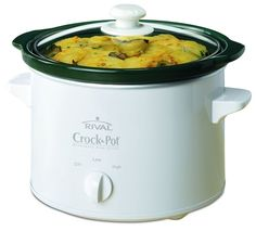 Rival quart Slow Cooker is a great cooking solution for busy people. It can serve up to 3 to 5 people. The removable stoneware pot is easy to clean. The unit has 2 heat settings for greater cooking capacity. Crock Pot Slow Cooker, Crockpot, Stoneware, Kitchen Appliances, Cooking, Glass, Steamers, Diabetes, Rice