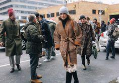 #StreetStyle   #NYC  Laurel Pantin in White + Warren