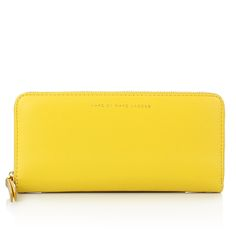 958a60f09da3 Marc by Marc Jacobs Sophisticato Slim Zip Around Wallet Canary Yellow Multi  in gelb