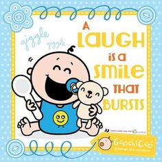 A laugh is a smile that bursts #Happiness