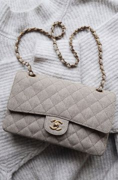 86de69e1a chanel light beige canvas 2.55 quilted bag | best neutral luxury handbags  of 2019 | best