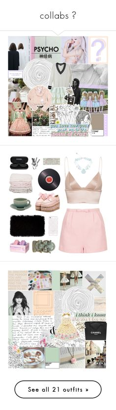 """collabs ♡"" by feels-like-this-could-be-forever ❤ liked on Polyvore featuring LE3NO, INC International Concepts, Assouline Publishing, Topshop, T By Alexander Wang, Joseph Joseph, Kate Spade, Jars, Chanel and Donna Karan"