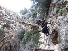 Caminito del Rey chemin le plus dangereux du monde 5   Caminito del Rey: le chemin le plus dangereux du monde?   record du monde photo image...