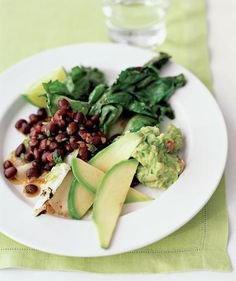 Black Beans and Escarole Salad | Eating an exclusively plant-based diet can be incredibly satisfying and tasty—especially with these hearty recipes.