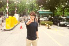 Twitter / donghae861015: 내 뒤 에 는 E L F 가 지 ...