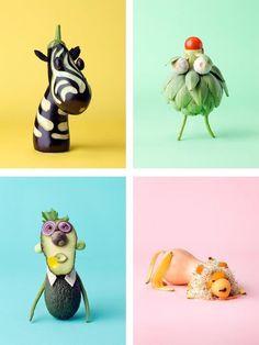 ¡Las verduras también pueden ser divertidas!