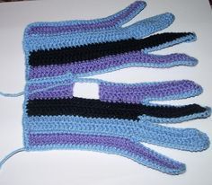 Варежки, перчатки, митенки крючком - Tatiana Alexeeva - Álbuns da web do Picasa