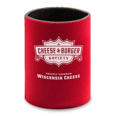 Giveaway - 2 Cheese & Burger Society can koozies to the first 25 people who REPIN this image.