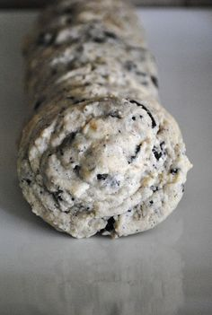 Cookies & Cream Cookies:  1 cup butter, softened 1/2 cup packed brown sugar 1/2 cup white sugar 1 package Cookies n'Creme pudding mix 2 eggs 1 tsp. vanilla 2 1/4 cups flour 1 tsp salt 1 tsp baking soda 10 Oreos, chopped 1/2 cup white chocolate chips