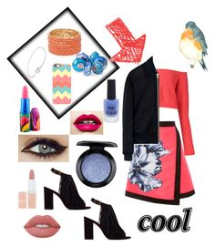 """Untitled #99"" by pretty0329 ❤ liked on Polyvore featuring Baja East, McQ by Alexander McQueen, Vince Camuto, Lime Crime, Rimmel, Casetify, MAC Cosmetics, Bling Jewelry, Pandora and New Look"