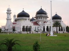 Masjid Baiturrahman in Banda Aceh, Indonesia, established 1881