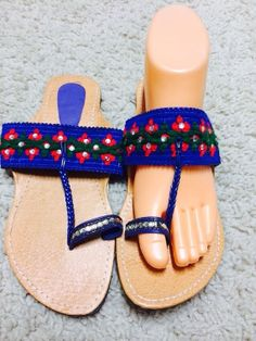 Sandals Gladiator Thongs Slippers Shoes Handmade flip by Artsiart, $18.99
