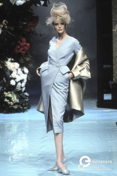 Nadja Auermann @ Christian Dior, Spring-Summer 1996, Couture
