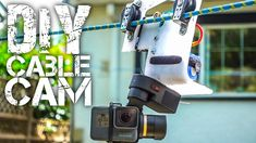 DIY GoPro Cable Cam   In this video Kyle Martin shows how to make a DIY cable cam for your GoPro camera using the components of an RC car. This is an awesome project and definitely one you should check out.  He was super impressed with how it came out the speed the camera can get up to on this rig is crazy.  You may also like:DIY GoPro Suction Cup Mount  About Kyle Martin:  This channel is full of GoPro mounting tips and tricks that will save you a lot of frustration time and money.  Text…