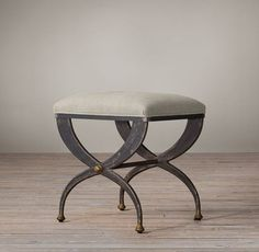 French s-curve upholstered bench/ottoman/coffee table combo option for the living room. x x Weight: 40 lbs. Small Upholstered Bench, Curved Bench, Ottoman Stool, Bench Stool, End Of Bed Seating, Neoclassical Design, Furniture Vanity, Accent Furniture, Hall Furniture