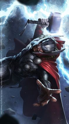 Thor by JEEHYUNG LEE.