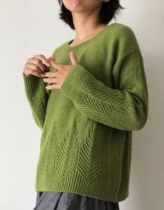 Knitting Stiches, Sweater Knitting Patterns, Knitting Designs, Knit Patterns, Baby Knitting, How To Purl Knit, Crochet Clothes, Knitwear, Knit Crochet