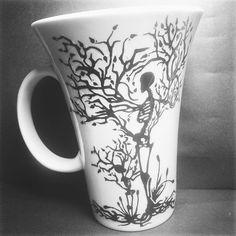#art #DELUTO #gothmug #dark #black #handmade #horror #creative #creepe #mug #new #porcelain #paint #skull #skullmug #working #worknight https://instagram.com/p/1cmsGxCd64/?taken-by=de.luto