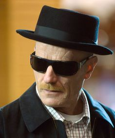 Heisenberg Hat and Sunglasses - Love Breaking Bad!