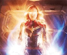 The power of Captain Marvel! Marvel Dc Movies, Marvel Gif, Marvel E Dc, Marvel Women, Marvel Characters, Marvel Avengers, Marvel Comics, Marvel Universe, Gifs