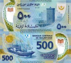 Mauritania 500 Ouguiya 2017