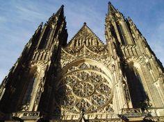 Прага, Чехия. Собор Святого Вита.