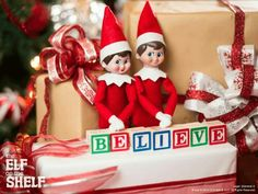 THE ELF ON THE SHELF~BELIEVE.