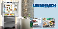 Yes, liebherr the construction manufacturer also makes fridges and freezers ect...