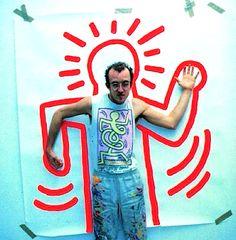 the 80s Keith Haring Graffiti flashback Art
