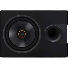 "JBL - 12"" Single-Voice-Coil 4-Ohm Subwoofer - Black"
