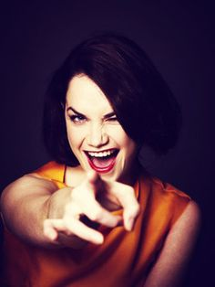 Right back at ya Ruth Wilson! Luther, English Actresses, Actors & Actresses, Ruth Wilson, Female Of The Species, Famous Women, Famous Faces, Role Models, Amazing Women
