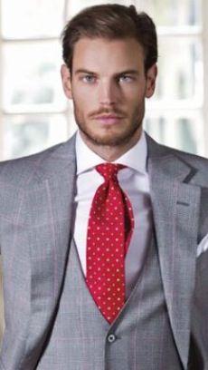 Brown Suit, Burgundy Accents | men's fashion | Pinterest ...