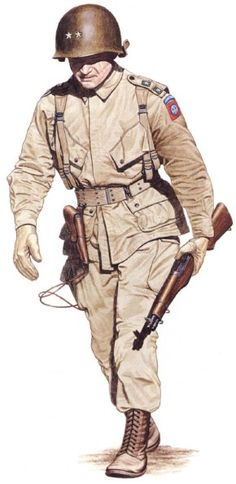 EUA - 82nd Airborne Division, gen. James Gavin, pin by Paolo Marzioli
