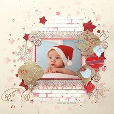 10 Beautiful Christmas Scrapbook Layout Ideas