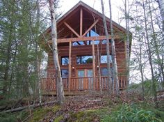 Pigeon Forge Vacation Rental - VRBO 134798 - 2 BR East Cabin in TN, Comfy Beds, New Couches, Wifi and Hot Tub!