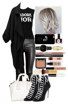 """""""Dior Casuality"""" by ludya ❤ liked on Polyvore featuring H&M, Christian Dior, Givenchy, Dsquared2, Ciaté, ROSEFIELD, Jennifer Meyer Jewelry, Lord & Berry, NYX and Maybelline"""
